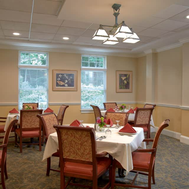 Goddard House Assisted Living Dining Room