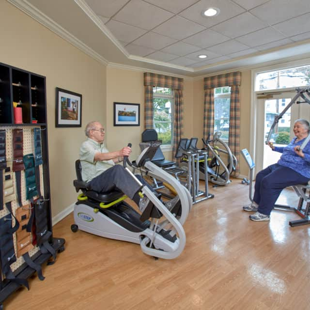 Fitness Studio at Goddard Assisted Living