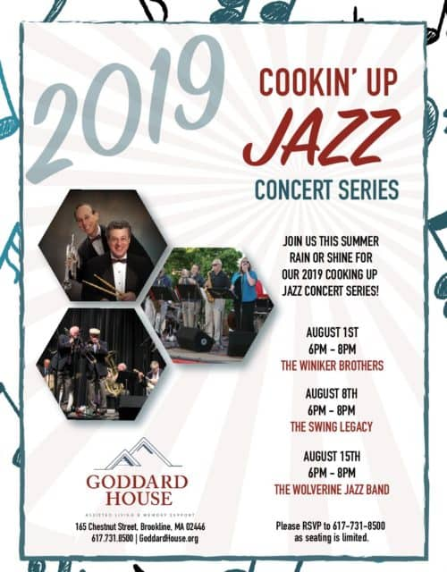 Cookin' Up Jazz Concert Series