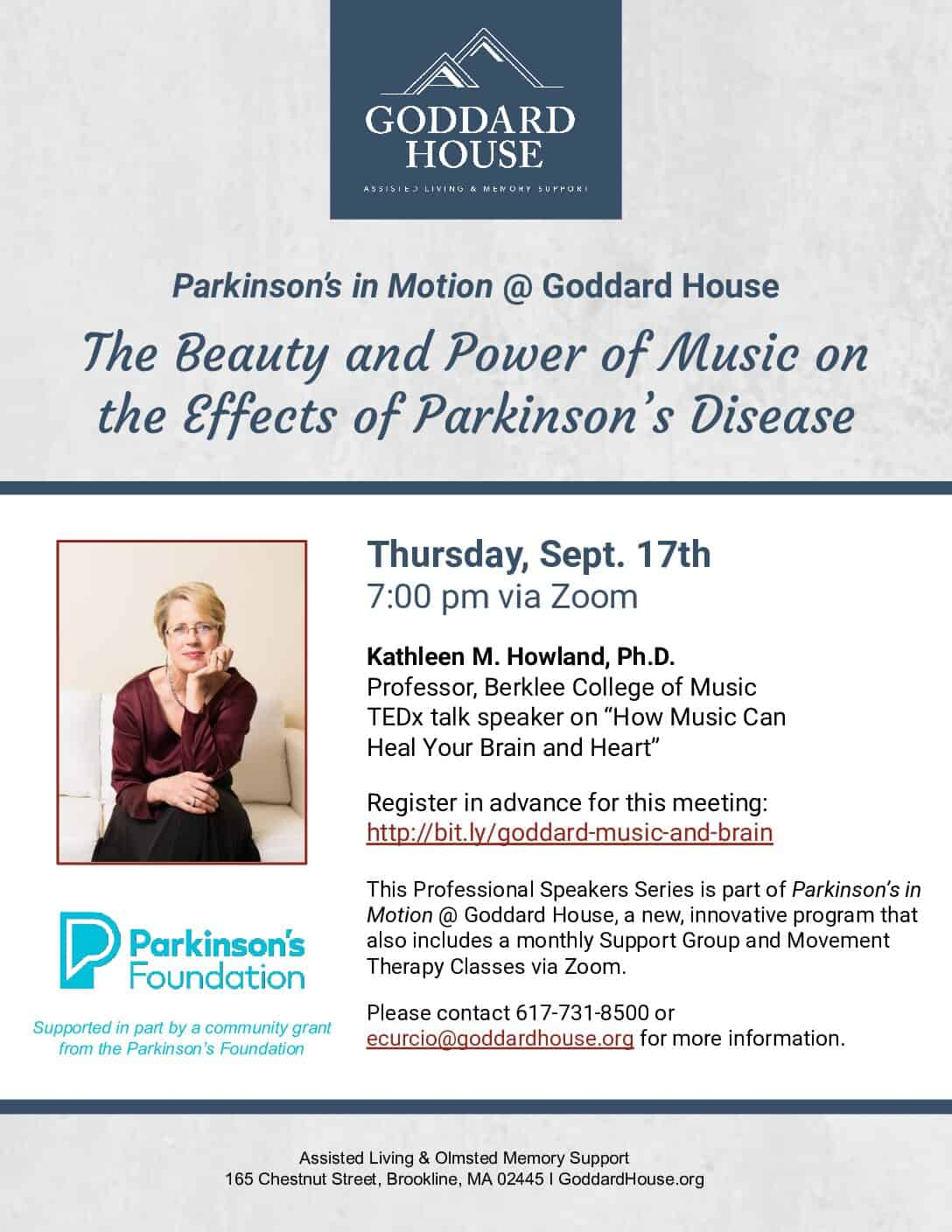 The Beauty and Power of Music on the Effects of Parkinson's