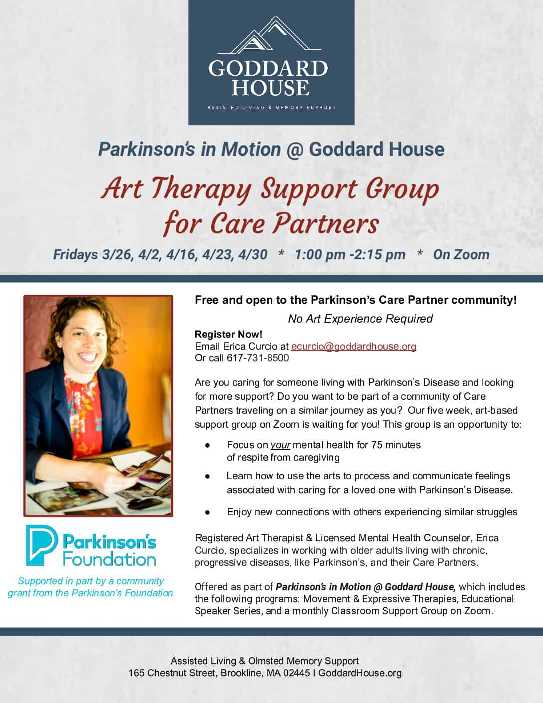 Art Therapy Support Group for Care Partners