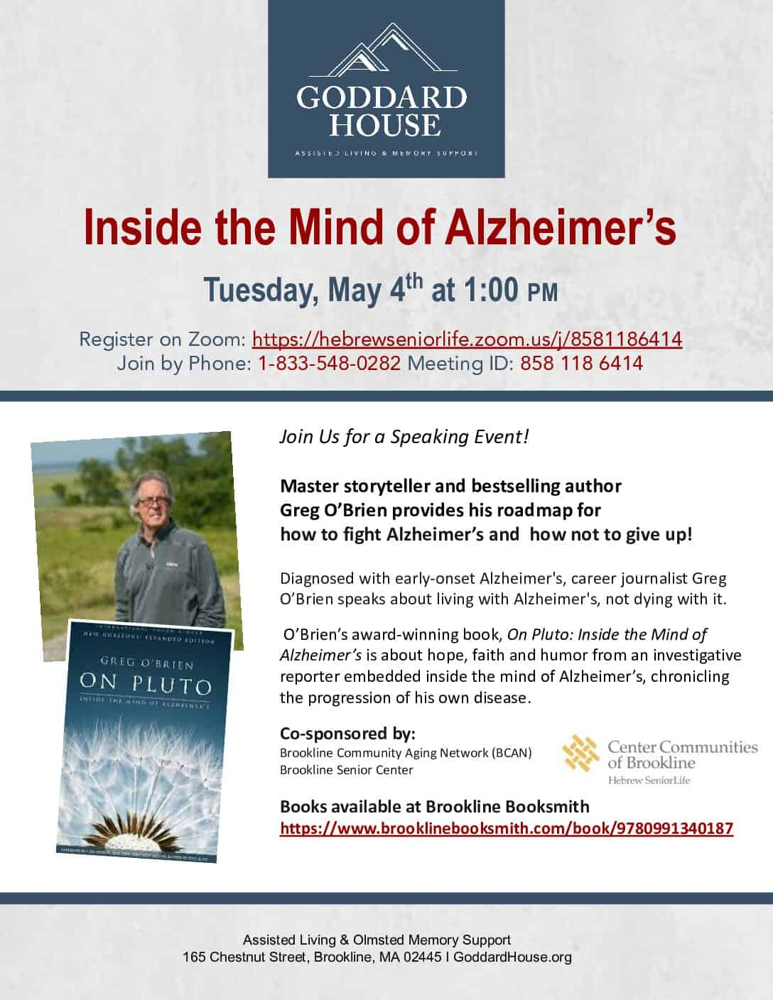 Greg O'Brien: Inside the Mind of Alzheimer's